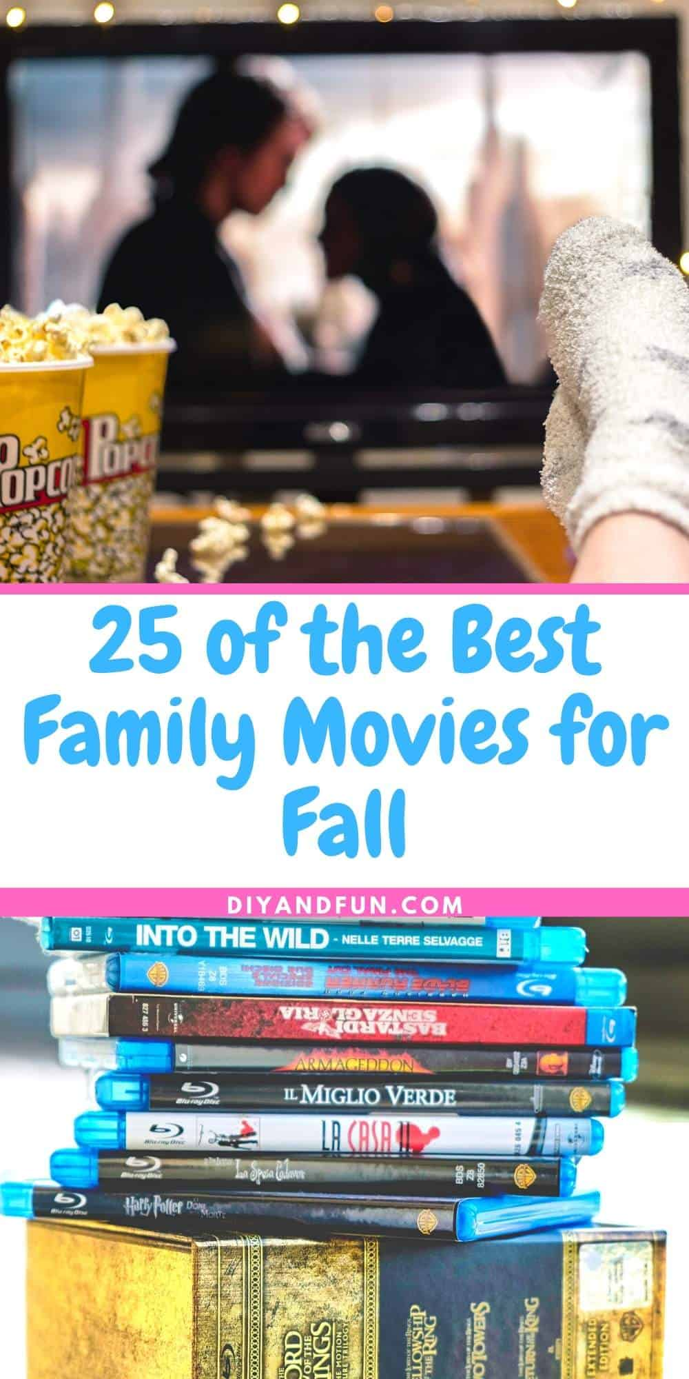 25 of the Best Family Movies for Fall pin