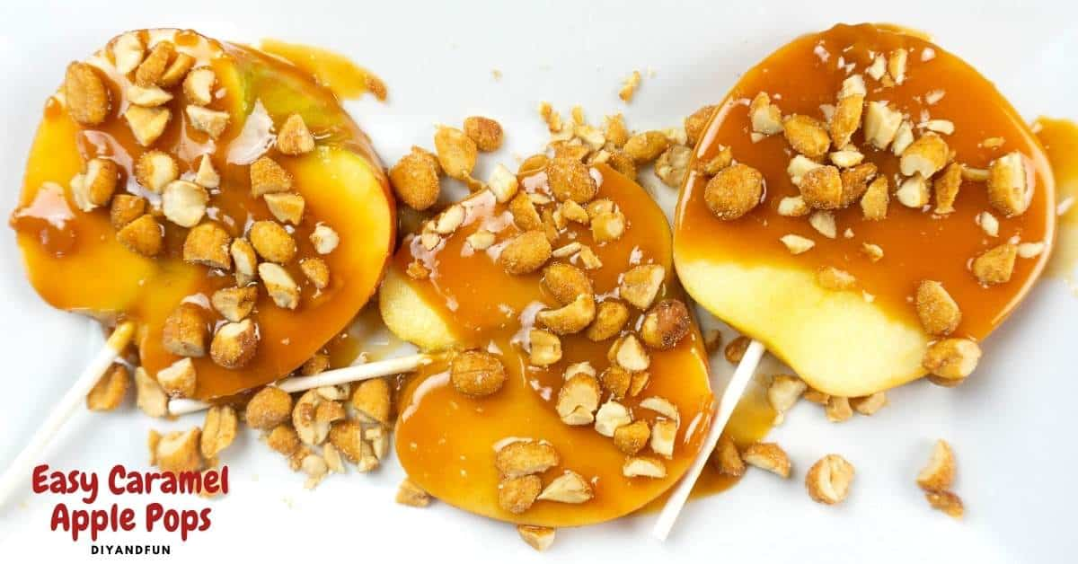 Easy Caramel Apple Pops Recipe