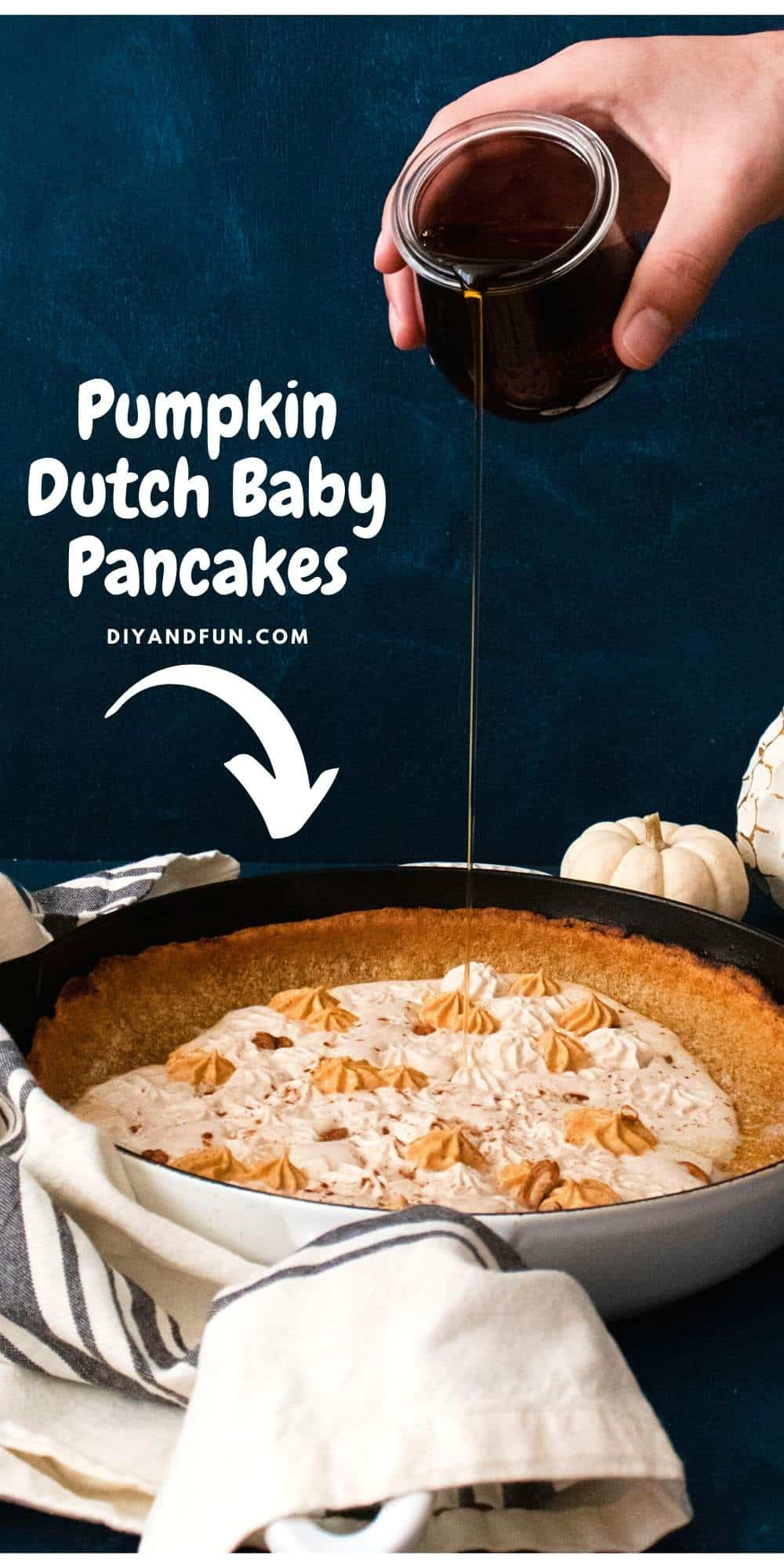 Pumpkin Spice Dutch Baby Pancake