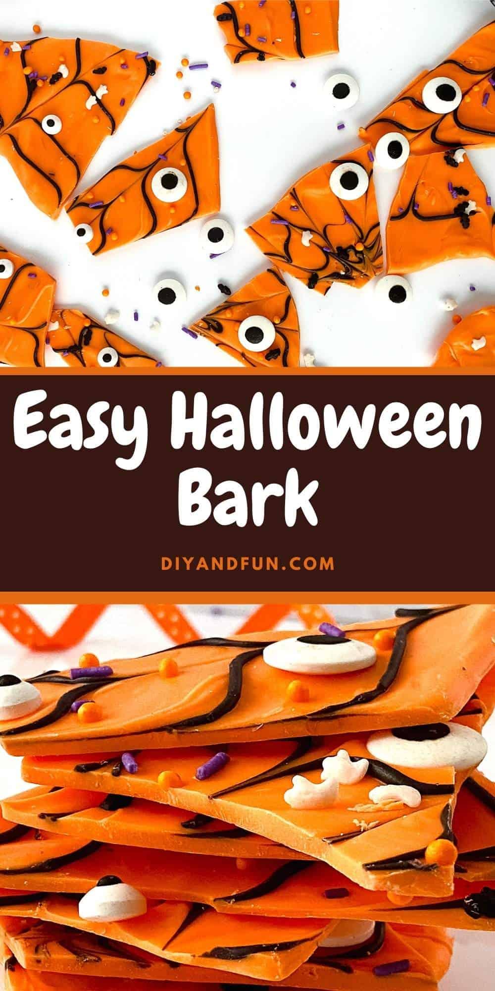 Easy Halloween Bark