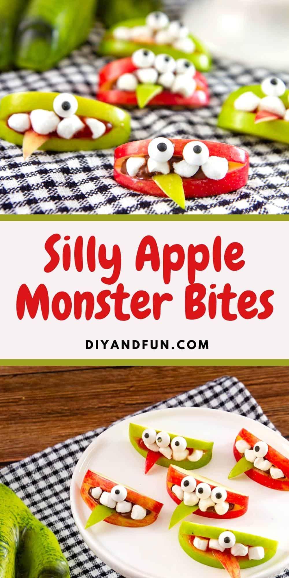Silly Apple Monster Bites
