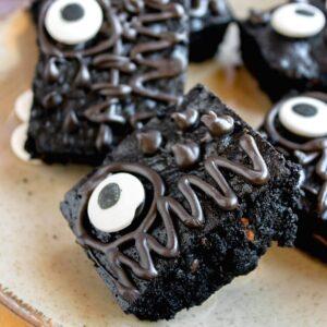 Chocolate Halloween Brownies