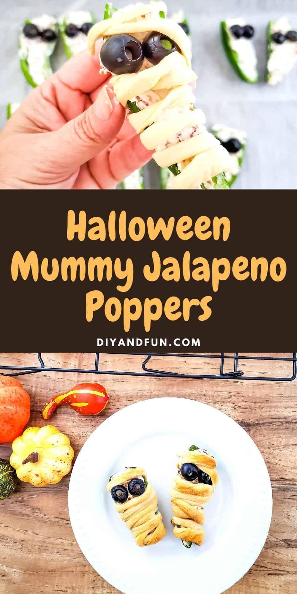 Easy Mummy Jalapeno Poppers