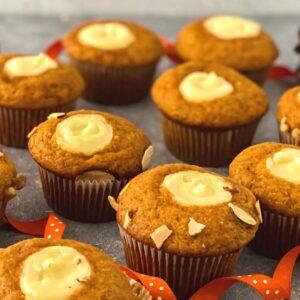 Copycat Starbucks Pumpkin Cream Cheese Muffins